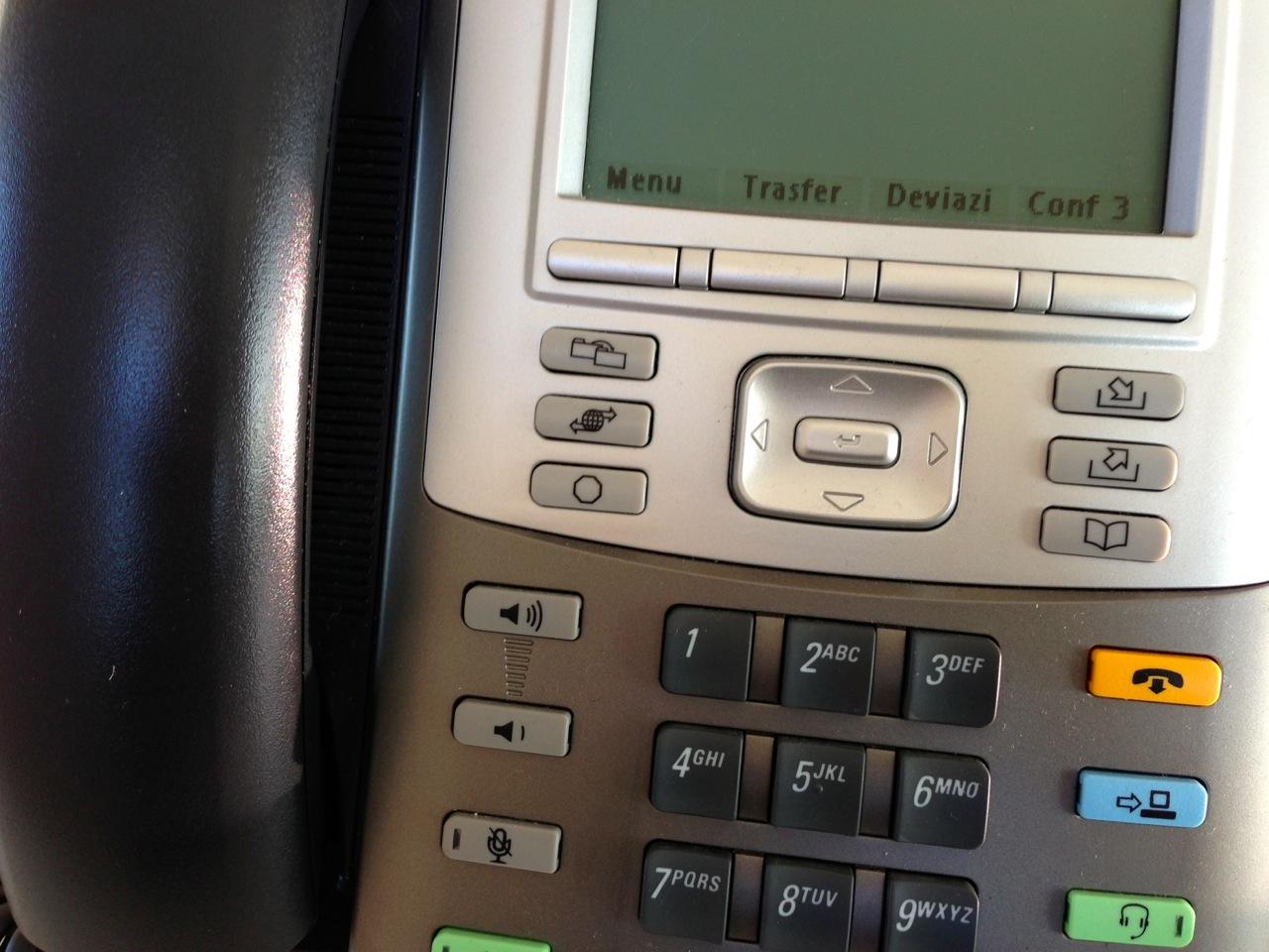 Impianti telefonici tradizionali e IP - telefonia IP